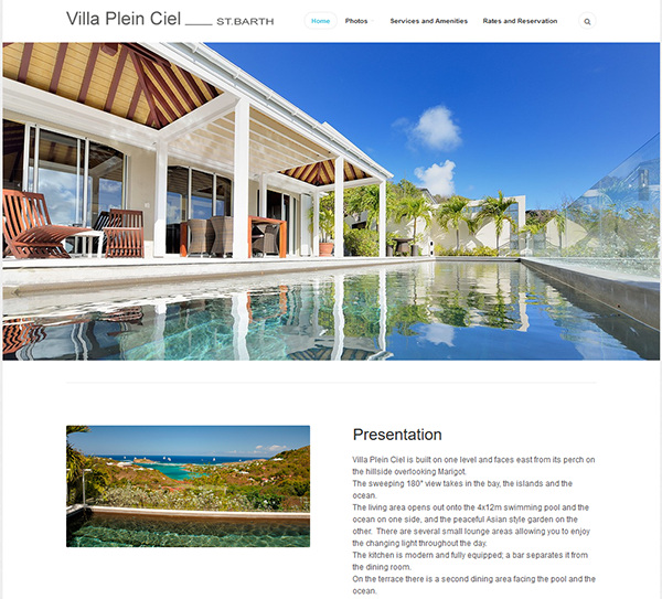 Villa Plein Ciel - St.Barth vacation rental