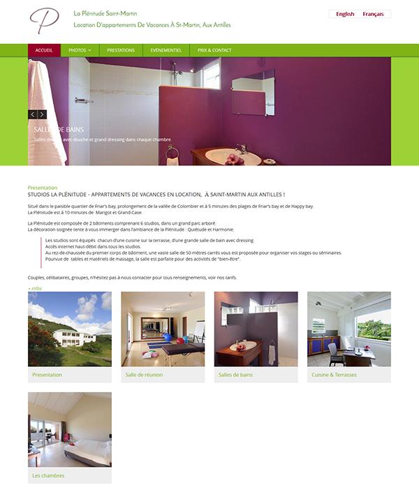 La Plenitude, Guest-House in St.Martin - Location saisonnière à Saint-Martin