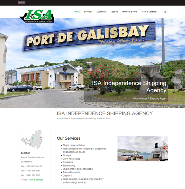 Independence Shipping Agency SXM