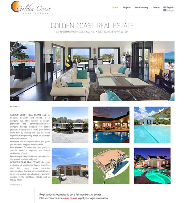 Golden Coast Real Estate - Saint Barth
